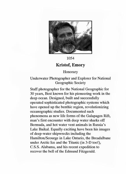Kristof, Emory