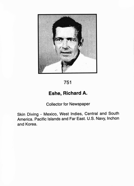 Eshe, Richard A.