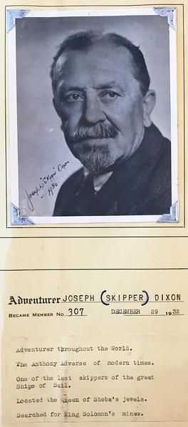 Dixon, Joseph (Skipper)