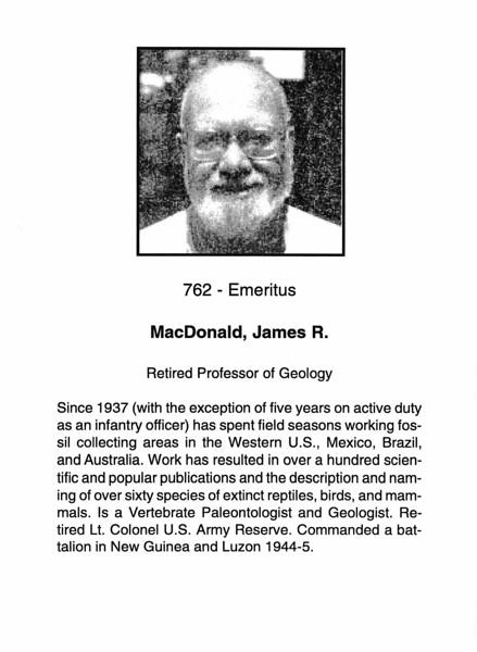MacDonald, James R.