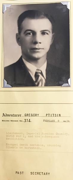Ptitsin, Gregory
