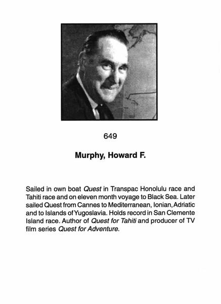 Murphy, Howard F.