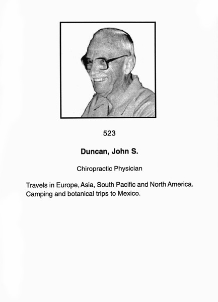 Duncan, John S.