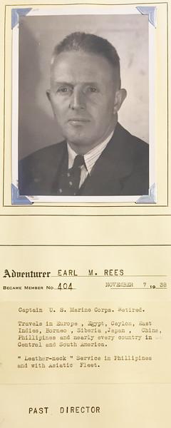 Rees, Earl