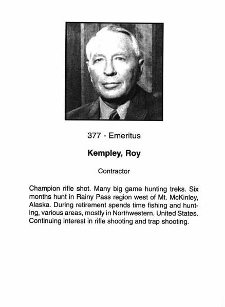 Kempley, Roy