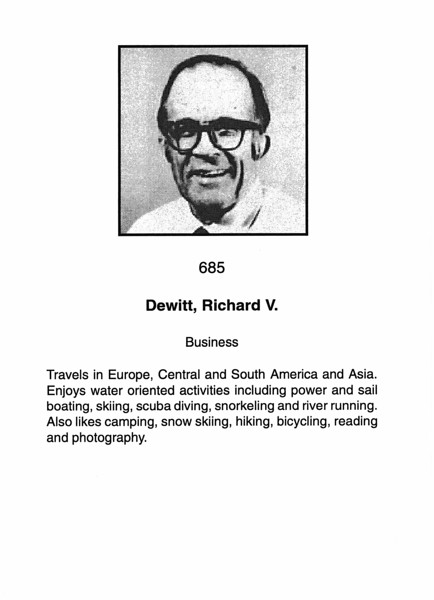 Dewitt, Richard V.