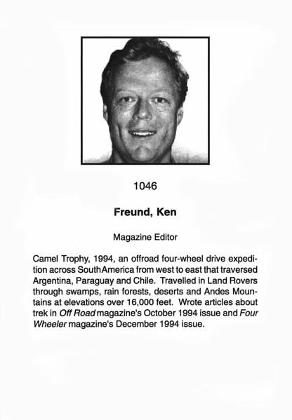 Freund, Ken