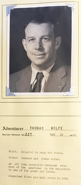 Wolfe, Thomas