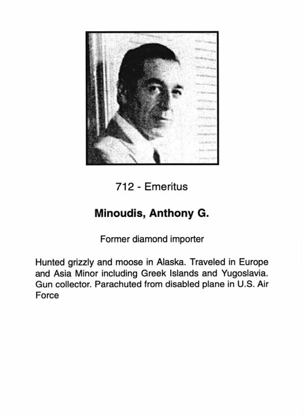 Minoudis, Anthony G.