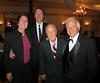 Merry Passage, Phil Garner, Sid Hallburn (WWII Veteran) & Bill Burke (oldest Westerner to summit Mt. Everest).<br /> NOHA <br /> October 26, 2013