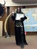 "Faith Granger receives ACLA medallion and certificate.<br /> <a href=""http://www.deuceofspadesmovie.com/"">http://www.deuceofspadesmovie.com/</a>"