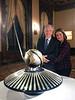 Barbara & Michael Lawler<br /> Annual Aero Club Dinner at the Jonathon Club, Los Angeles<br /> Feb. 13, 2109