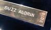 Adventurers' Club member #1197, Buzz Aldrin, name on the Howard Hughes Memorial Award