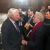 Dick Rutan speaks with Bill Price<br /> Annual Howard Hughes Memorial Award Dinner of the Aero Club of Southern California, at the Jonathon Club, Los Angeles<br /> Feb. 13, 2109