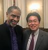 "With Tim ""Tuvoc"" Russ. Live long and prosper!<br /> Aero Club of Southern California Annual Dinner<br /> Jonathon Club, Los Angeles<br /> Feb. 13, 2109"