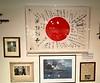 Japanese flag, donated by Roy Roush