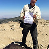"""The Big """"70"""" summit of Mt. Baldy<br /> August 15, 2015"""