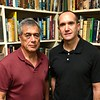 Shane with Marc Weitz<br /> Club Library<br /> September 27, 2018