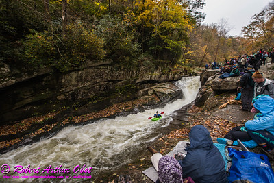 """Green River Race - Images of extreme class 5+ whitewater canoe and kayak racing on pitches of Gorilla rapids within the Green River Narrows"" (USA NC Saluda; Obst Photos Nikon D800 Adventures in Paddlesport Whitewater Competition Images)"