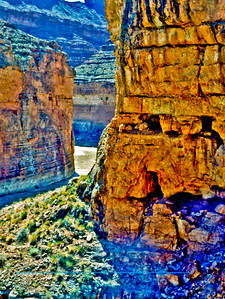 South Canyon Mile Thirty-one (31) of the Colorado River below Lees Ferry at within Grand Canyon National Park (USA AZ Grand Canyon)