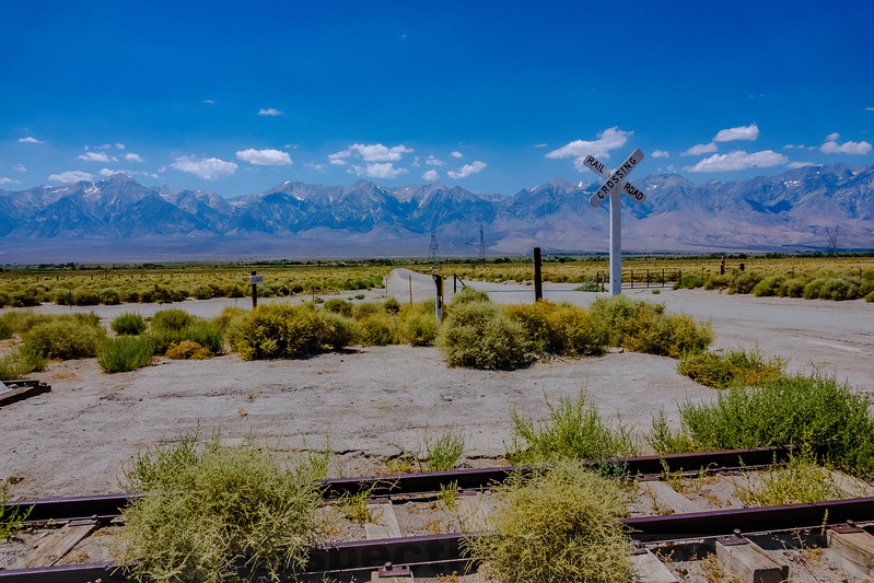 The Site of Kearsarge Station in the Owens Valley