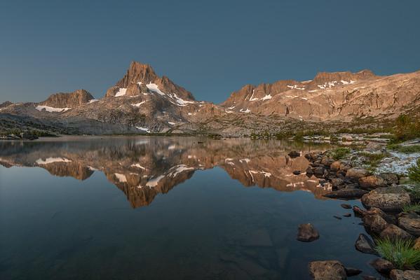 Banner Peak Reflection in Thousand Island Lake
