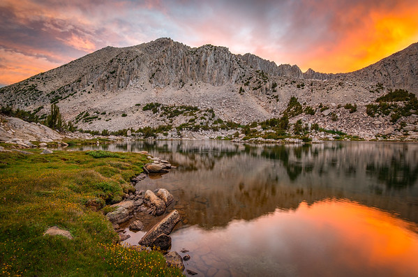 Mount Hopkins Sunset From the Pioneer Basin