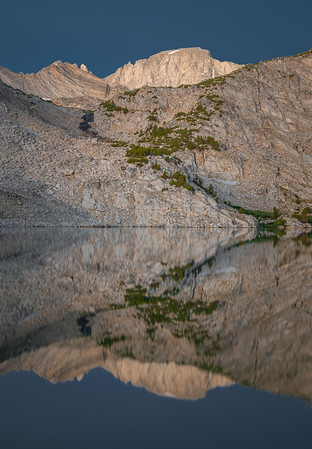 Mount Dade Reflected in Ruby Lake