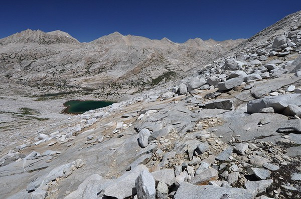 Looking Back at Stub Lake