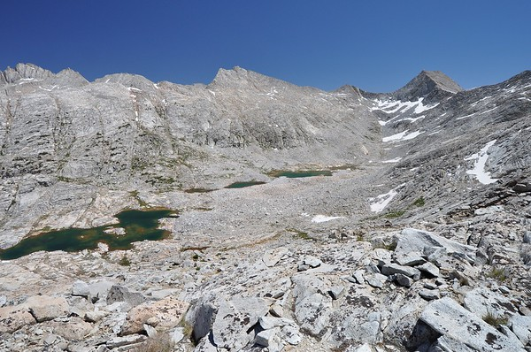 From Near Seven Gables Pass