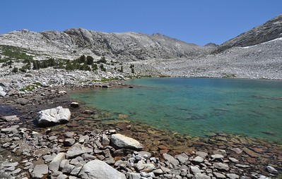 Shore of Stub Lake