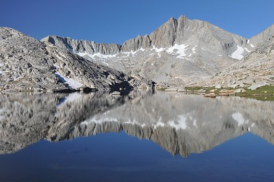 Seven Gables Reflected in Vee Lake