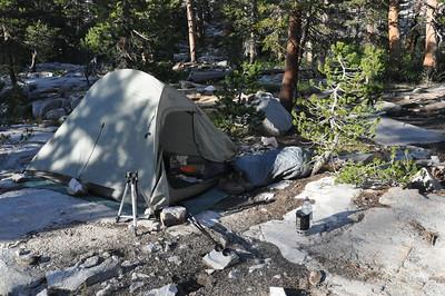 My Camp Near Stub Lake