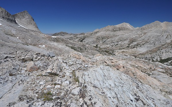Near Seven Gables Pass