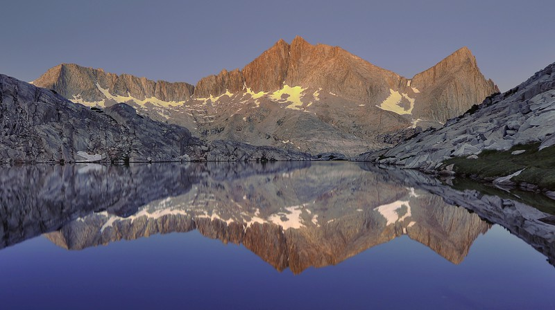 Morning Reflections in Vee Lake