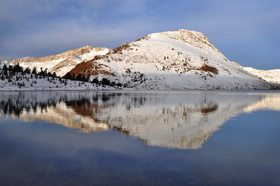 Reflections in Saddlebag Lake