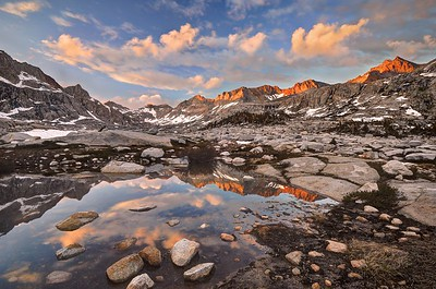 Reflections in the Nine Lake Basin