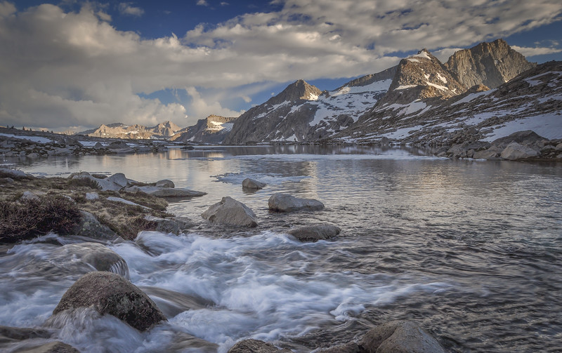 Nine Lake Drainage and Eagle Scout Peak
