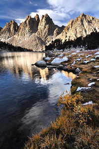 Kearsarge Pinnacles.  Copyright © 2010 All rights reserved.