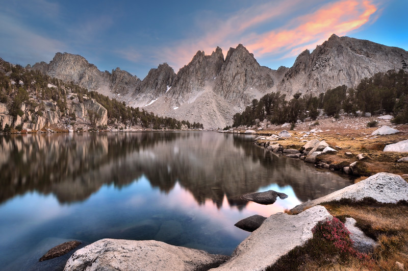 Evening, Kearsarge Pinnacles.  Copyright © 2010 All rights reserved.