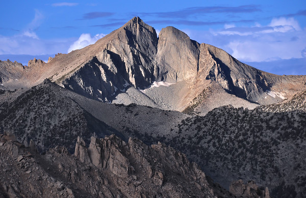 Mount Frances Farquhar.  Sierra Nevada Range, California.  Copyright © 2010 All rights reserved.