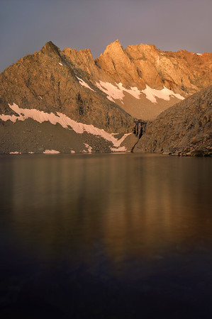 Clyde Spires and Echo Lake (morning).  Copyright © 2010 All rights reserved.