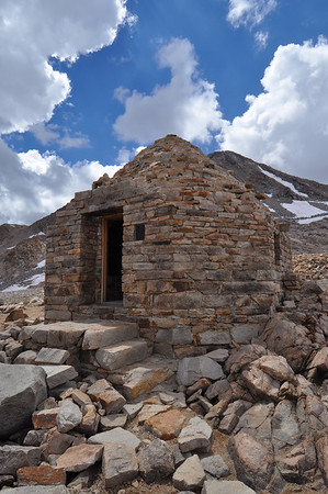 John Muir Cabin (Muir Pass).  Copyright © 2010 All rights reserved.