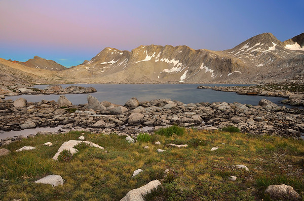 Muir Pass Evening (Wanda Lake).  Copyright © 2010 All rights reserved.