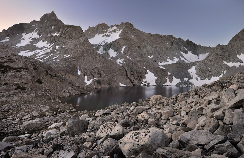 Echo Lake and Mount Powell.  Copyright © 2010 All rights reserved.