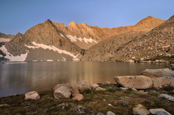 Echo Lake and Clyde Spires.  Copyright © 2010 All rights reserved.