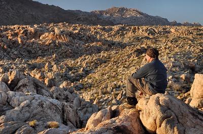 Taking a Break Mojave Desert National Preserve, California.  Copyright © 2011 All rights reserved.