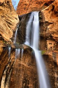 Lower Calf Creek Falls Escalante, Utah.  Copyright © 2011 All rights reserved.