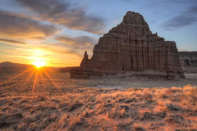 Temple of the Sun Sunrise