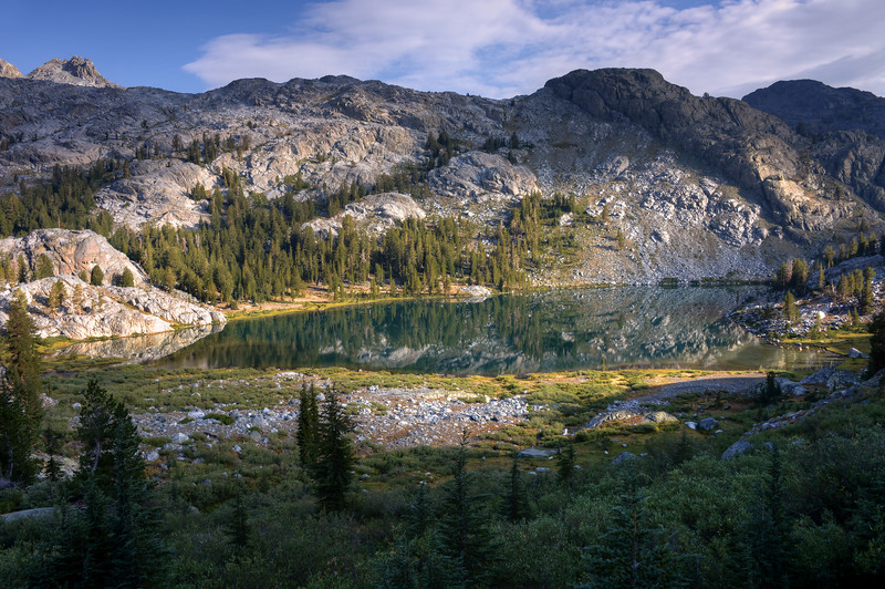 A Look Back at Lake Ediza Inyo National Forest, California. Copyright © 2012 All rights reserved.